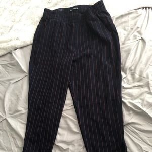 Abercrombie and Fitch striped trousers